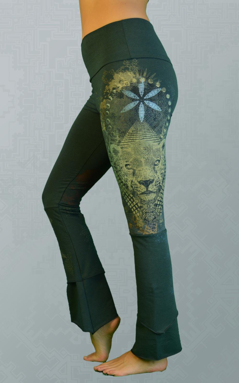 Women S Bamboo Yoga Pants Made In Canada Worldbridger Inkspoon